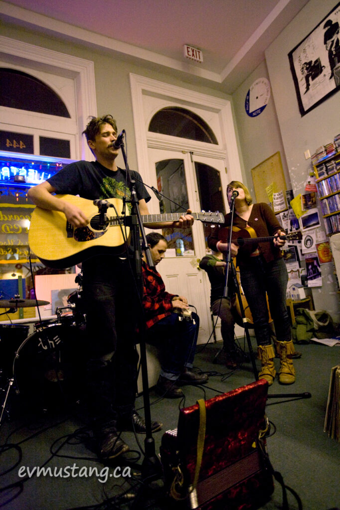 image of the Kindness Killers at Bluestreak Records