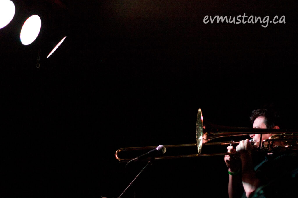 image of Tom Reader and his trombone