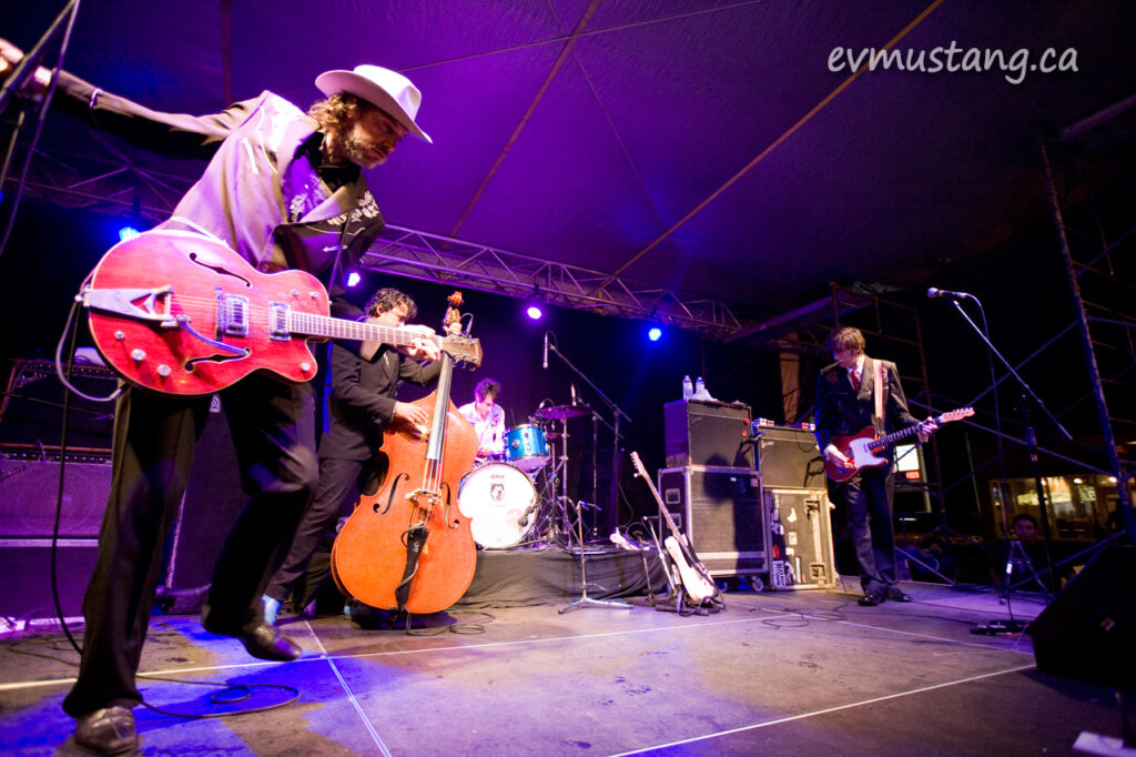 image of The Sadies at the Hootenanny on Hunter