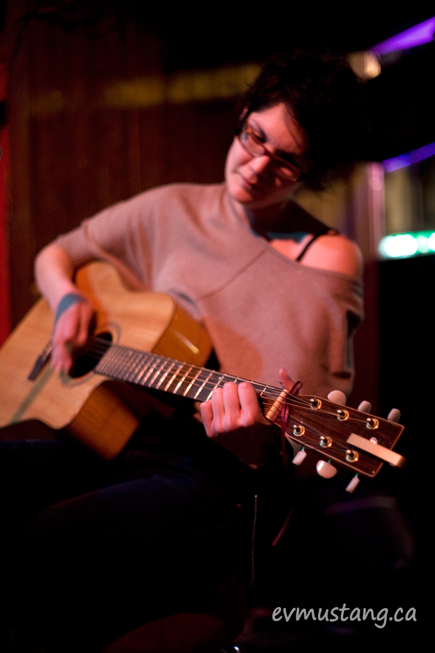 image of tara williamson at the spill, peterborough