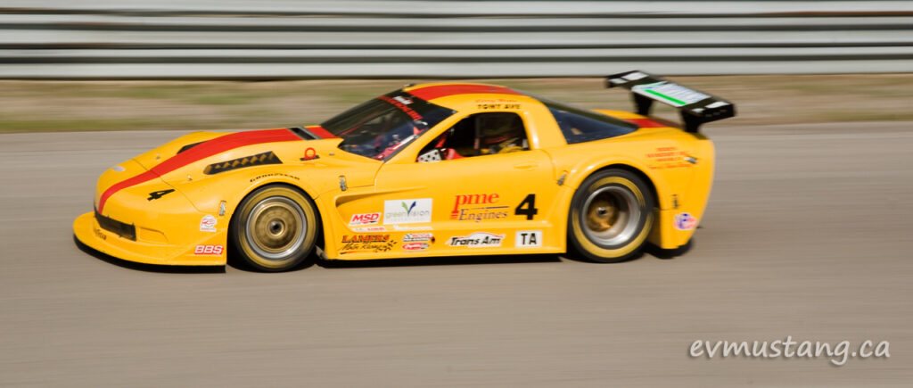 image of trans am car race