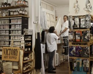 image of Victory Art Supply store owner Scott Delaney