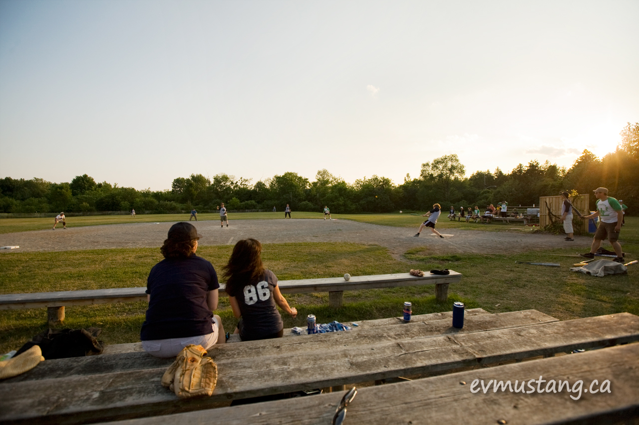 image of Peterborough recreational baseball league Zeros vs Misfits